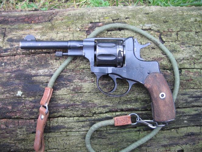 La pistola a rotazione Nagant  M° 1895